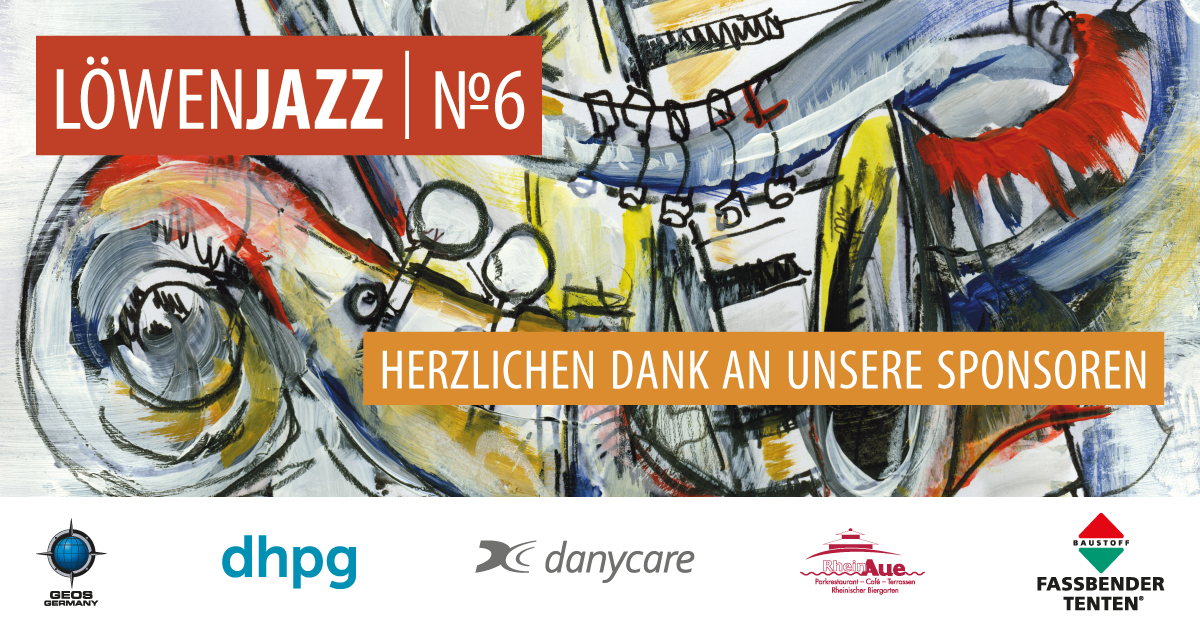 LöwenJazz No. 6 - Die Sponsoren 2019