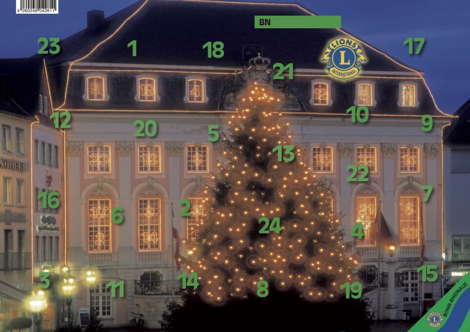 Adventskalender Lions Club Bonn-Rheinaue